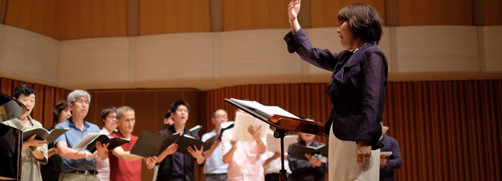アンサンブルクライスは主にルネサンスとバロックの宗教合唱曲を演奏する合唱団です
